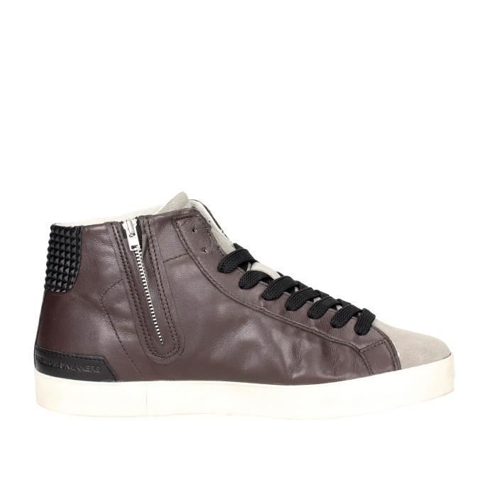 D.a.t.e. Sneakers Homme Marron, 46