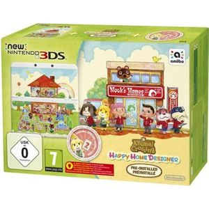 CONSOLE NEW 3DS New 3DS + Animal Crossing Happy Home Designer Préi