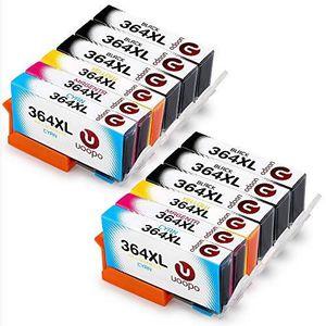 CARTOUCHE IMPRIMANTE Uoopo 364XL Compatibles pour HP 364XL Cartouches d