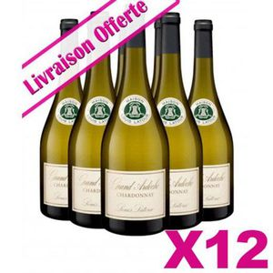 VIN BLANC 12 Bts Latour - Chardonnay