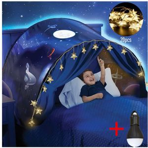 TENTE DE LIT Dream Tents - Hot Kids Pop Up Tente de Lit - Tente
