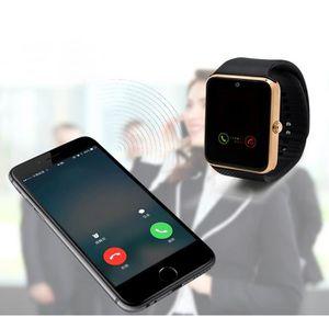 MONTRE CONNECTÉE Or GT08 Bluetooth intelligent Phone  Montres Télép