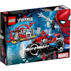ASSEMBLAGE CONSTRUCTION LEGO® Marvel Super Heroes 76113 Le sauvetage en mo