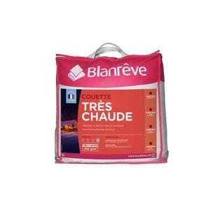 COUETTE BLANREVE Couette très chaude 240x260 cm blanc