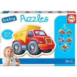 PUZZLE EDUCA - Puzzle - 24 MOIS VÉHICULES