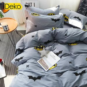 housse de couette batman achat vente housse de couette batman pas cher cdiscount. Black Bedroom Furniture Sets. Home Design Ideas