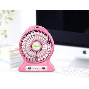 VENTILATEUR Mini Ventilateur à la Main Silencieux USB Recharge