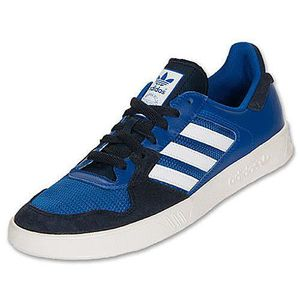 BASKET Adidas Originals TENNIS COURT TOP Bleu-Blanc Q2015