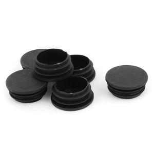 """1 1//4 /"""" 50 x Plastique d/'obturation d/'embouts cap insérer plug bonde pour tube carré 32mm"""