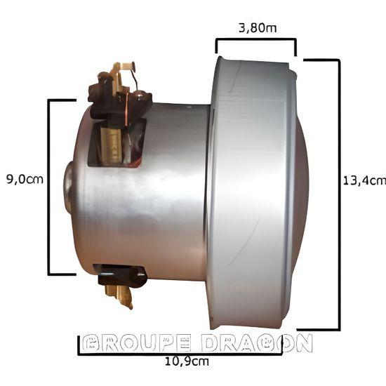 Wessper Moteur Cylindre pour Aspirateur Karcher NT 561 1200W