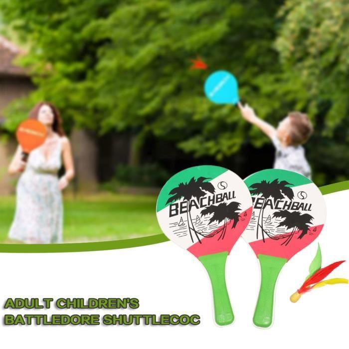 Ensemble de balles en nylon pour raquette de badminton pour débutants pour enfants adultes _pian3758