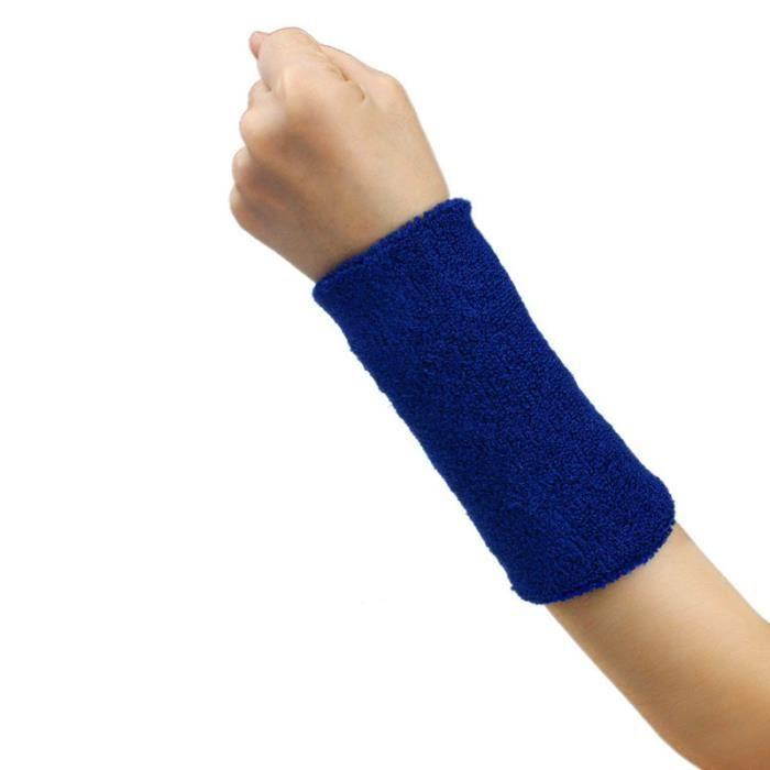 KIT PROTECTION Bande de sueur Bandeau de poignet Bande de bras Basketball Tennis Gym Yoga BU ke012