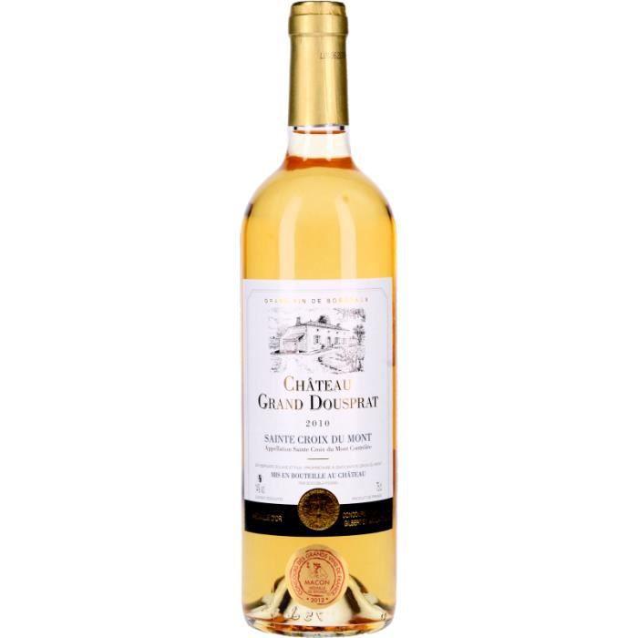 Vin Blanc - Château Grand Dousprat 2010 - Bouteille 75cl