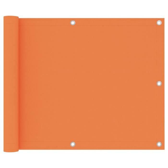 NEW Elégant PARAVENT extérieur Séparation de pièces Décor Moderne- Écran de jardin Paravent de Balcon Brise Vue Orange 75x300 2187