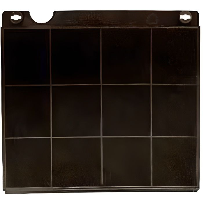 FILTRE A CHARBON HOTTE TYPE 15 TV008A 225X210X30MM (MOD 15)
