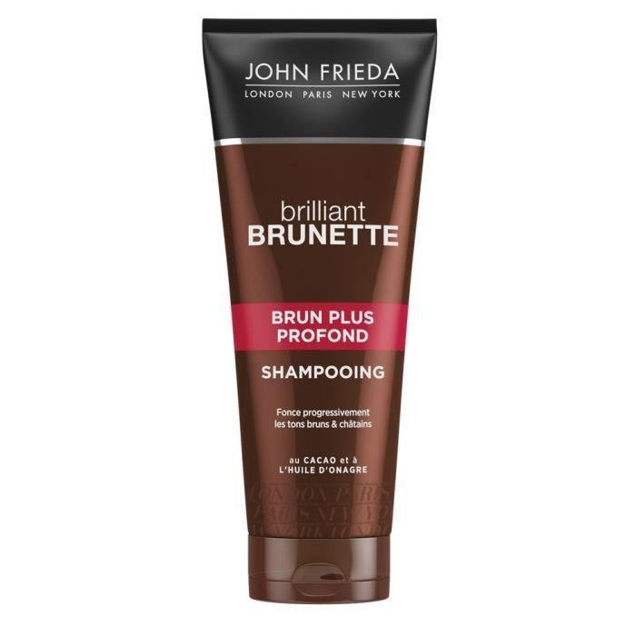 JOHN FRIEDA Shampooing Brun Plus Profond Brilliant Brunette - 250 ml