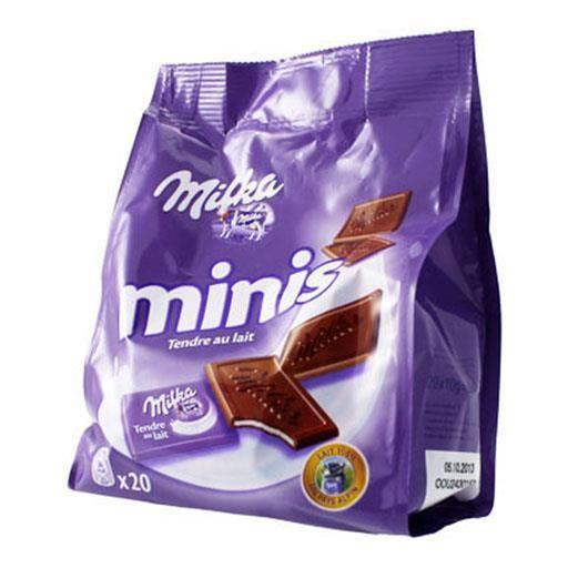 Milka Minis Tendre au Lait (lot de 4)