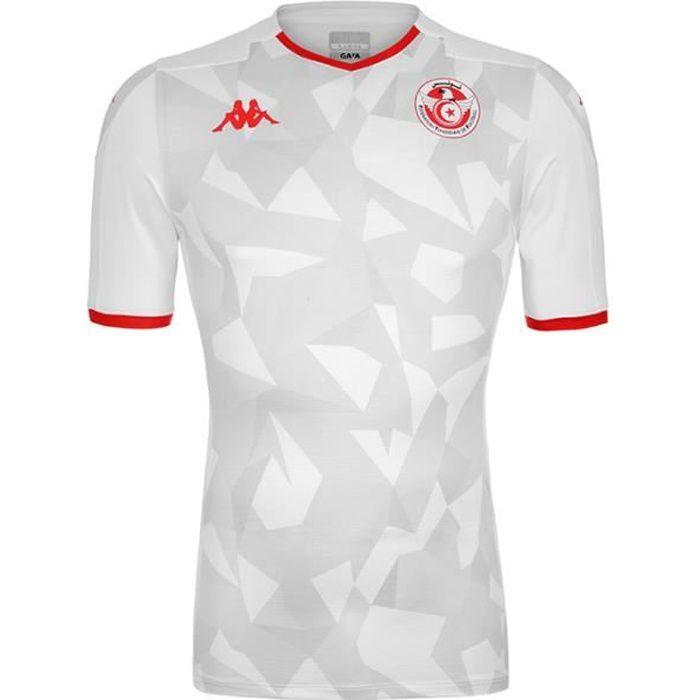 Maillot enfant Kombat Tunisia Home 19-20 Blanc 12Y