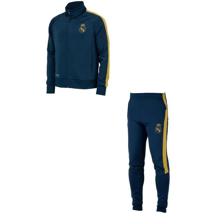 Survêtement training fit veste + pantalon Real Madrid - Collection officielle - Homme