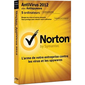 Norton Antivirus 2012 Small Office Pack (5 Pc)