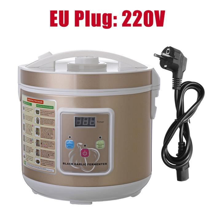 TEMPSA 5L 12-15 Days Intelligent Noir Ali Fermenteur Automatique Fermentation Machine