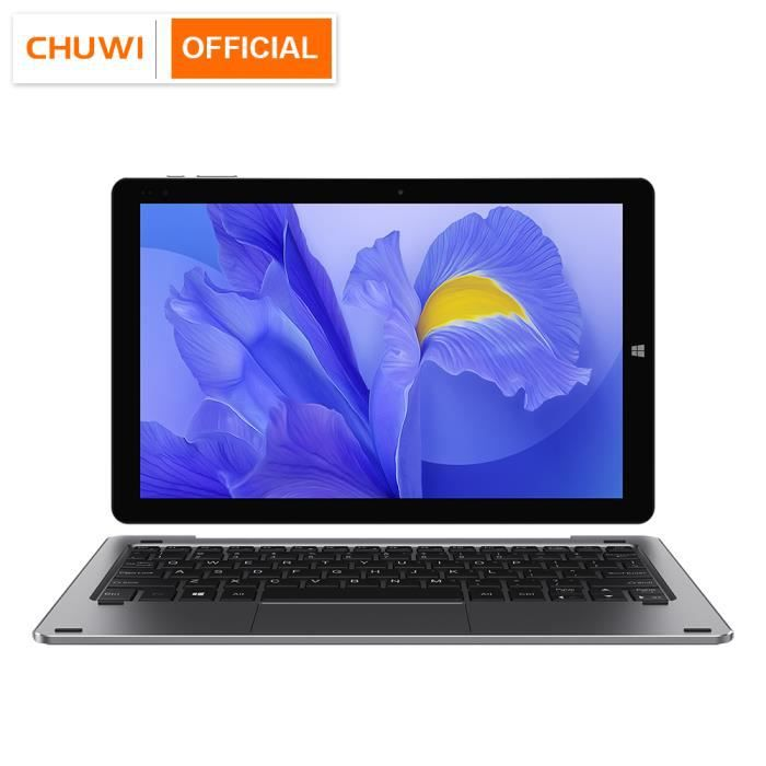 Écran CHUWI Hi10 X 10,1 pouces FHD Intel N4100 Quad Core 6 Go de RAM 128 Go ROM Windows Tablets Dual Band 2.4G Noir Tablette unique