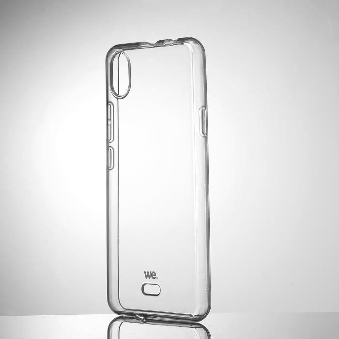WE Coque de protection transparente pour WIKO Y61 Fabriqué en TPU. Ultra résistant Apparence du téléphone conservée. Transparent