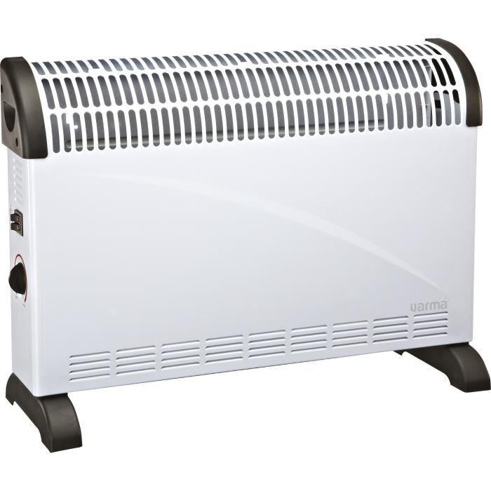 RADIATEUR D'APPOINT Convecteur mobile  Varma - 2000 W - Blanc