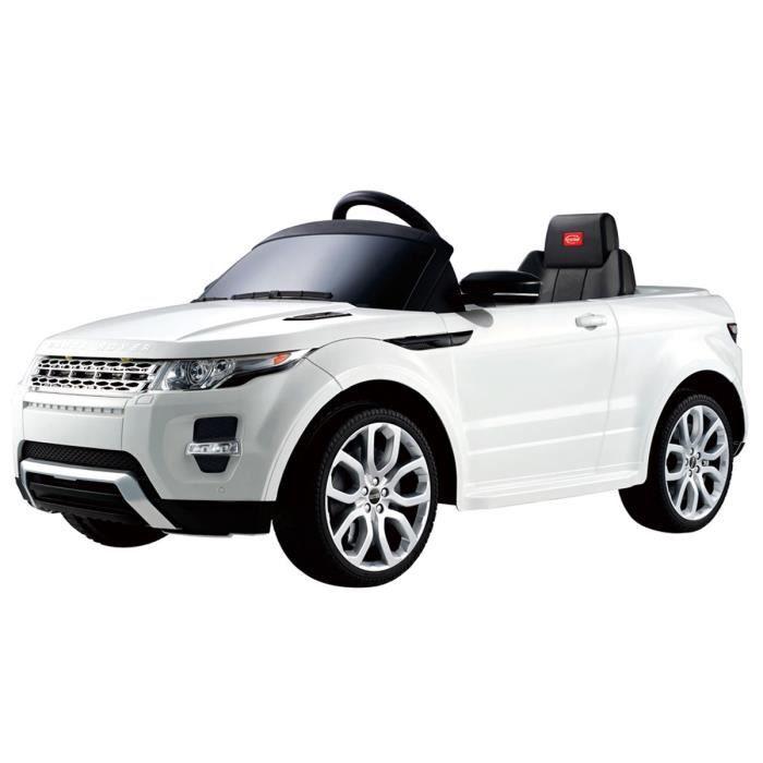 VOITURE ELECTRIQUE ENFANT Voiture électrique 12 V - style Range Rover - télé
