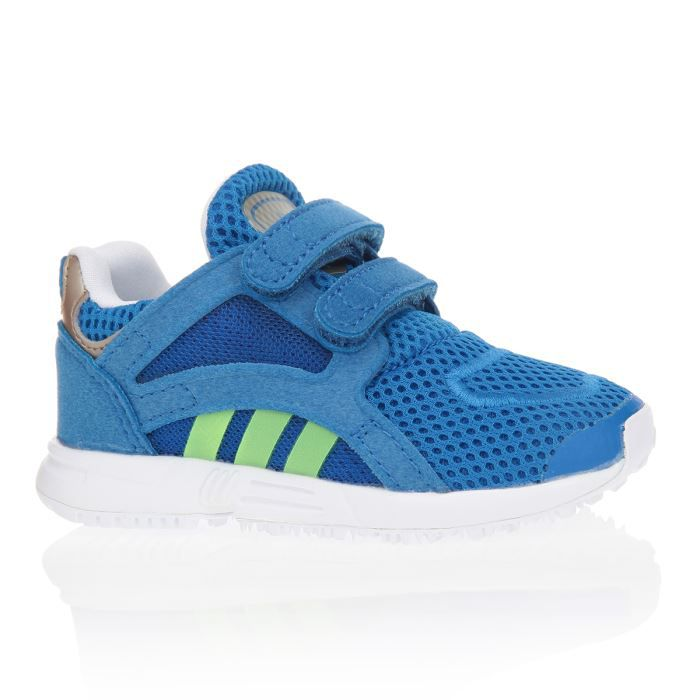 adidas baskets lite racer chaussures b b gar on bleu et vert achat vente basket cdiscount. Black Bedroom Furniture Sets. Home Design Ideas