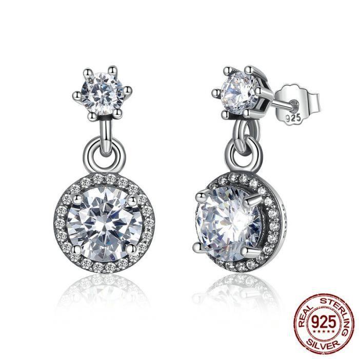 Femmes De Luxe Diamant-Clous Boucle d/'oreille Personnalité Boucles d/'oreilles quotidienne Parti Bijoux