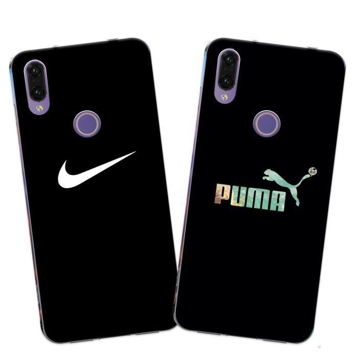 2 X Coque Huawei P20 Lite , Nike Doux Souple Trans