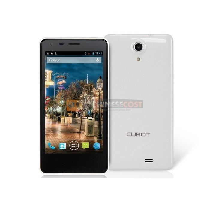 cubot s108 smartphone android d bloqu ce smartphone cubot cubot s108 quad core avec un. Black Bedroom Furniture Sets. Home Design Ideas