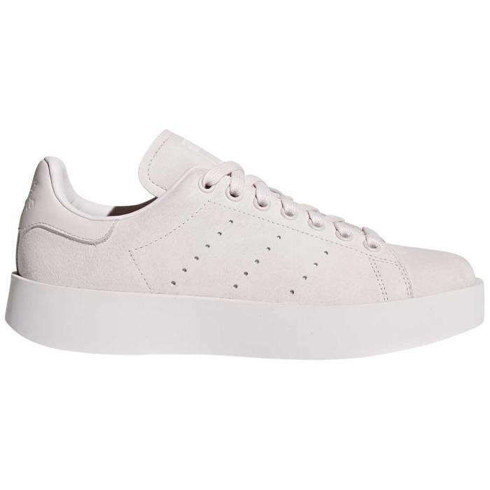 first look beauty no sale tax Chaussures femme Baskets Adidas Originals Stan Smith Bold Rose ...