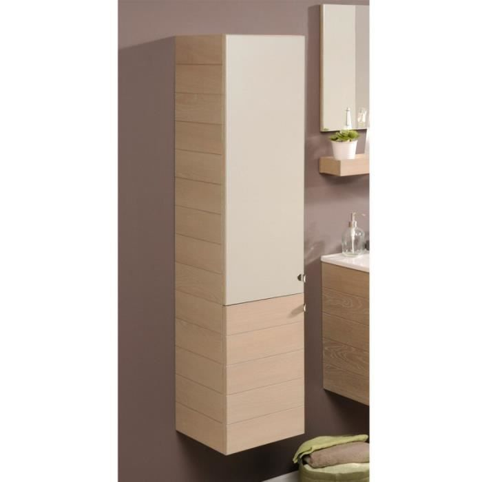 paris prix colonne de salle de bain calvi beige achat vente colonne armoire sdb paris. Black Bedroom Furniture Sets. Home Design Ideas