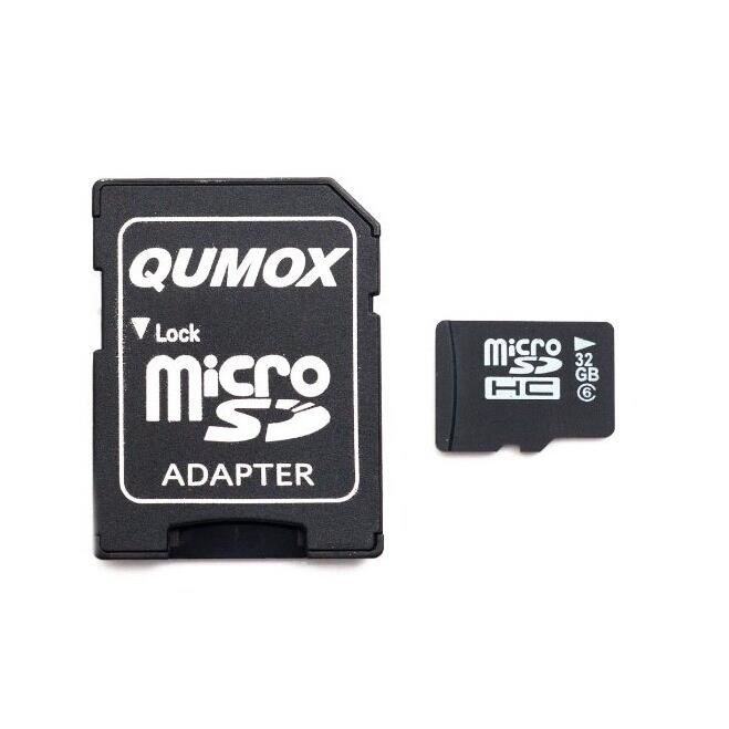 qumox 32 go 32 gb micro sd sdhc classe 6 achat vente carte m moire cdiscount. Black Bedroom Furniture Sets. Home Design Ideas