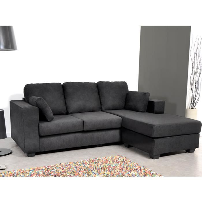 Angle r versible avec son coffre pouf assorti le canap d for Canape d angle reversible