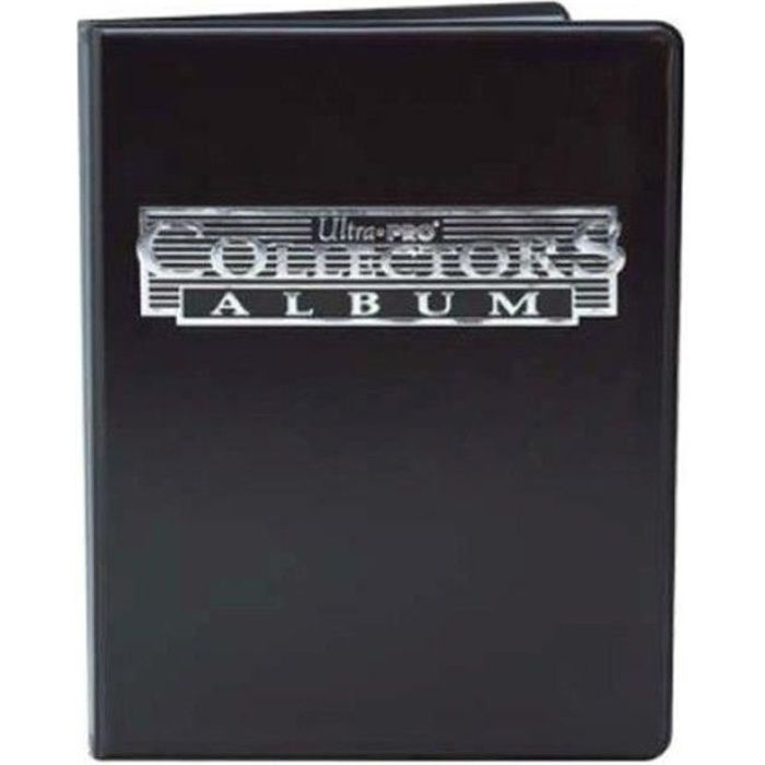 CARTE A COLLECTIONNER POKEMON - Cahier Range-cartes noir 180 cartes - Ca