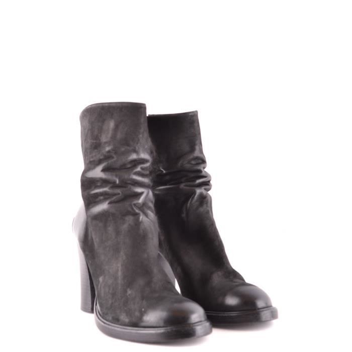 THE LAST CONSPIRACY FEMME TLC1787001 NOIR CUIR BOTTINES