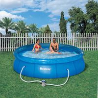 KIT PISCINE  Kit Piscine Ronde Fast Set Pools Cristal Ø3,66m