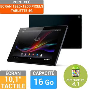 TABLETTE TACTILE Sony Xperia Tablet Z