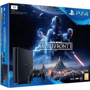 CONSOLE PS4 Nouvelle PS4 1 To + Star Wars Battlefront II