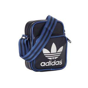 Sacoche Adidas Vintage Noire et Bleue noir Achat Vente
