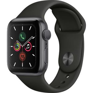 MONTRE CONNECTÉE Apple Watch Series 5 GPS 40 mm Boitier en Aluminiu