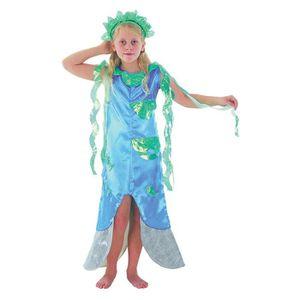 ROBE Sirène, Le Costume Filles Déguisements FNJLH