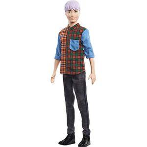 NEUF Barbie et Ken Fashionista 2021 avec chiot poupées Anniversaire PÂQUES Ensemble Cadeau UK