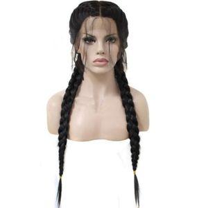 PERRUQUE - POSTICHE Perruque de cheveux synthétiques en dentelle natur