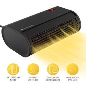 RADIATEUR D'APPOINT Chauffage électrique 500W Réchauffeur électrique p
