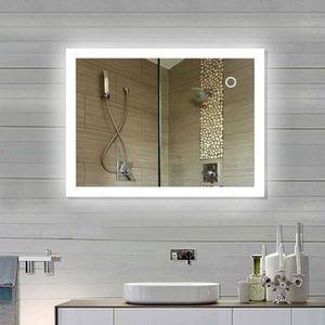 Miroir lumineux salle de bains 60 x 80