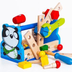 BRICOLAGE - ÉTABLI Panda en bois démontage vis jouets éducatifs enfan